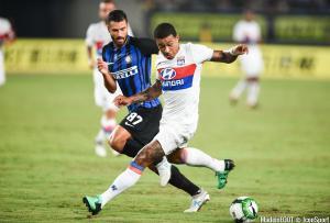 Antonio Candreva évolue depuis 2016 à l'Inter Milan.