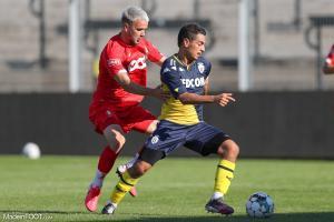 La compo officielle de l'AS Monaco face à l'Eintracht Francfort (Allemagne).
