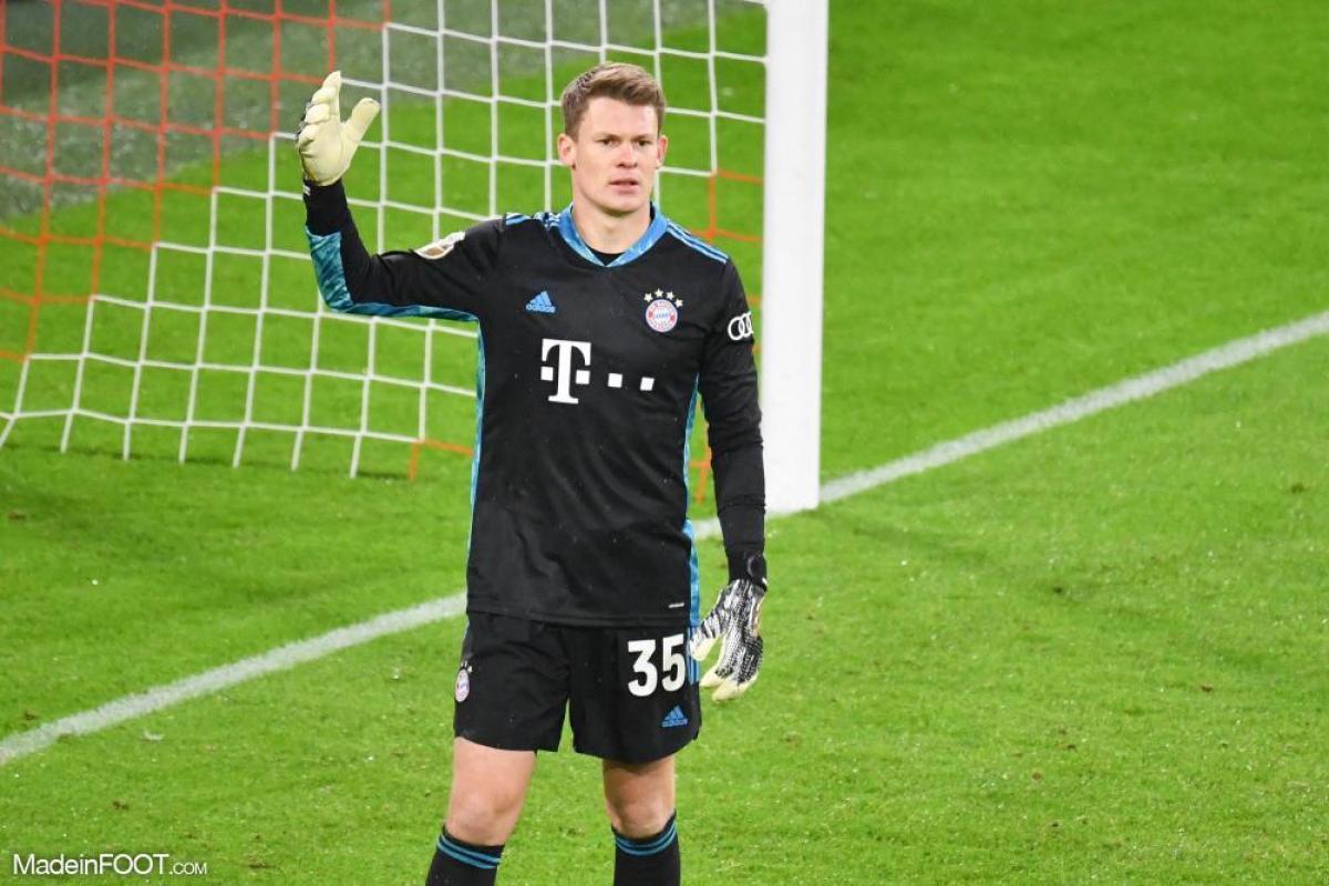 Alexander Nübel était titulaire durant son premier match.