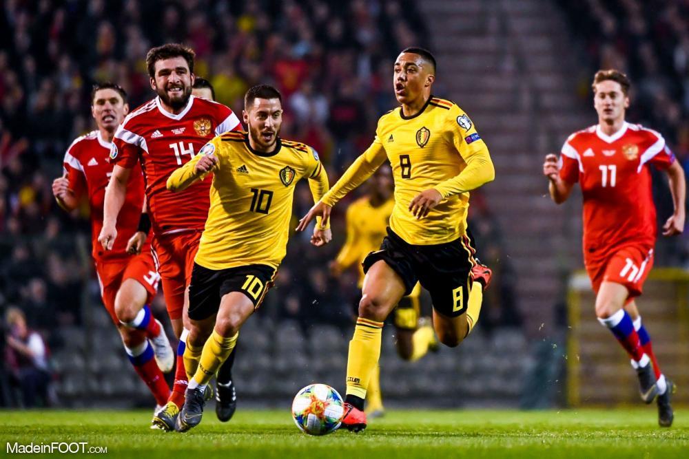 Youri Tielemans (AS Monaco), ici sous les couleurs de la Belgique.
