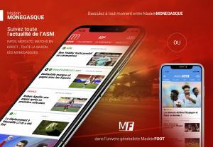 Mobile - Suivez toute l'actualité de l'ASM sur votre smartphone !
