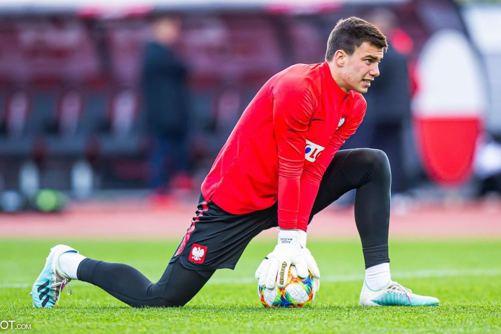 Majecki est entré en jeu avec la Pologne ce samedi