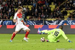Irvin Cardona, le jeune attaquant de l'AS Monaco.