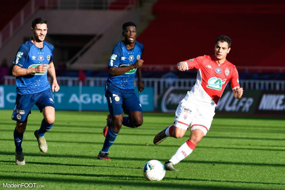 L'AS Monaco s'est imposée face au Stade de Reims (2-1), ce samedi après-midi en Coupe de France.