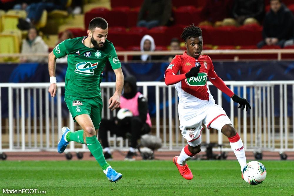 Arthur Zagre, ici sous les couleurs de l'AS Monaco.