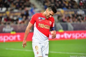 Radamel Falcao (AS Monaco) ne disputera pas le TDC face au PSG, samedi après-midi.