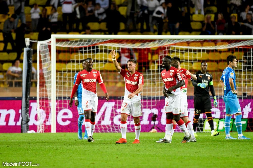 Monaco s'impose face à l'OM