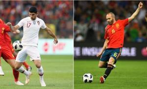 Les compos officielles du match entre le Portugal et l'Espagne.