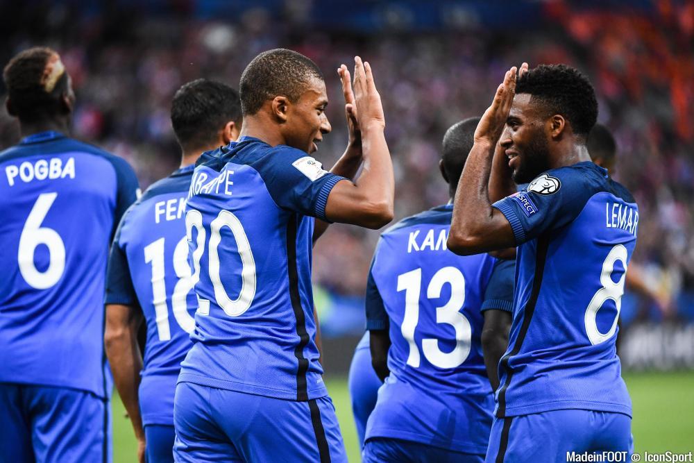Mbappe et Lemar titulaires contre le Luxembourg ?