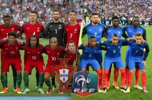 Les compos officielles du match entre le Portugal et la France.