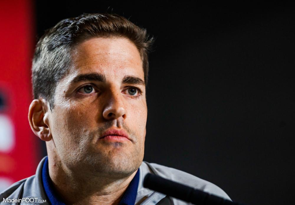 Robert Moreno, le nouvel entraîneur de l'AS Monaco.