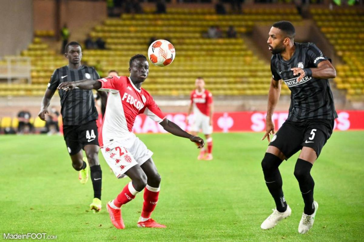 Krépin Diatta a marqué l'unique but de la rencontre