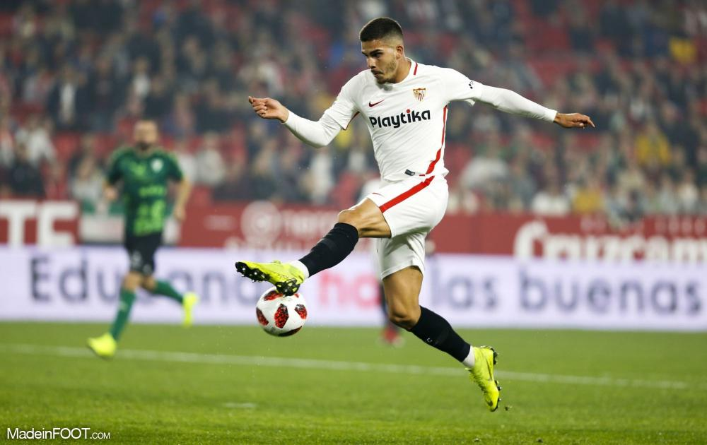André Silva a disputé la saison en prêt à Séville.