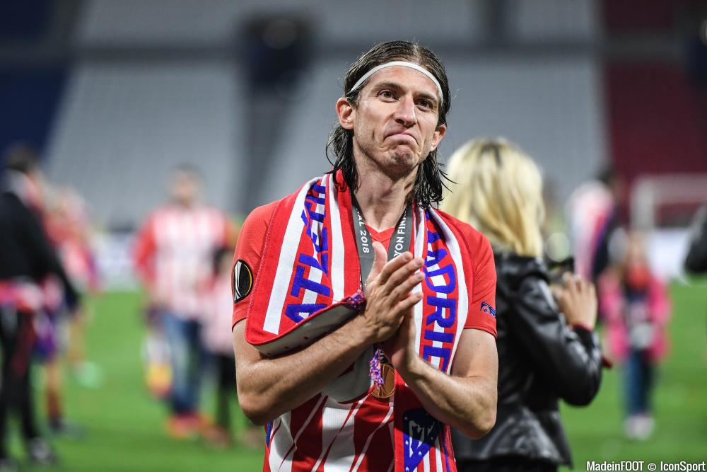 Filipe Luis (Atlético Madrid) serait dans les petits papiers de l'AS Monaco.