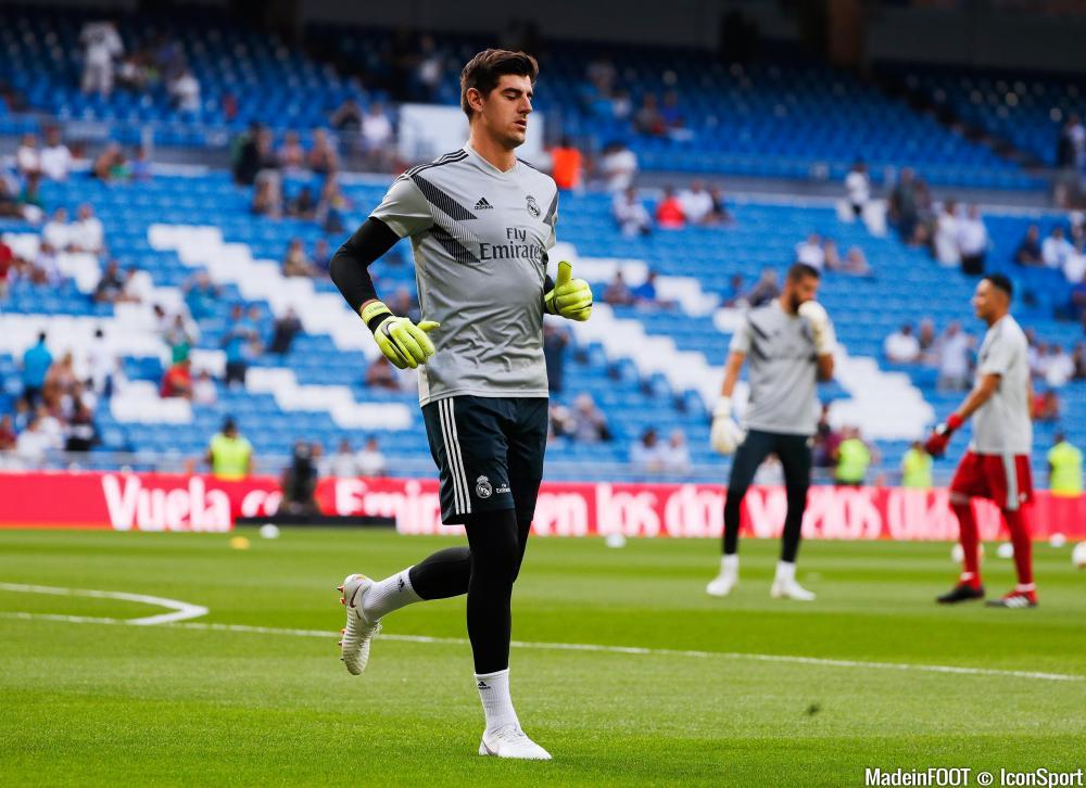 Thibaut Courtois a été recruté à bon prix par le Real Madrid.