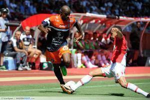 Camara Souleymane / Kurzawa Layvin - 18.08.2013 - Monaco / Montpellier - 2eme journee de Ligue 1 -