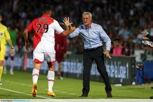 Emmanuel Riviere / Claudio Ranieri - 10.08.2013 - Bordeaux / Monaco - 1er journee de Ligue 1