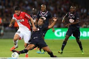 James Rodriguez / Marc Planus - 10.08.2013 - Bordeaux / Monaco - 1er journee de Ligue 1