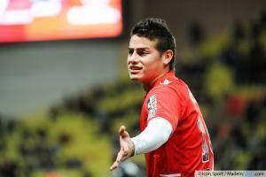 James RODRIGUEZ - 20.12.2013 - Monaco / Valenciennes - 19eme journee de Ligue 1 -