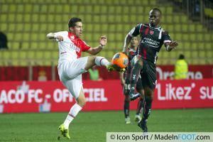 Joao MOUTINHO / Eloge ENZA YAMISSI  - 20.12.2013 - Monaco / Valenciennes - 19eme journee de Ligue 1