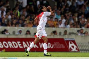 Joie de Falcao - 10.08.2013 - Bordeaux / Monaco - 1er journee de Ligue 1