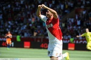 Joie Emmanuel Riviere - 18.08.2013 - Monaco / Montpellier - 2eme journee de Ligue 1 -