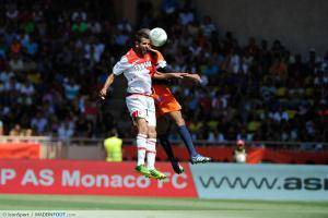 Mounir Obbadi - 18.08.2013 - Monaco / Montpellier - 2eme journee de Ligue 1 -