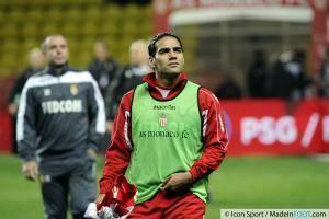 Radamel FALCAO  - 20.12.2013 - Monaco / Valenciennes - 19eme journee de Ligue 1