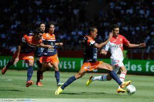 Yannick Carrasco / Hilton - 18.08.2013 - Monaco / Montpellier - 2eme journee de Ligue 1 -