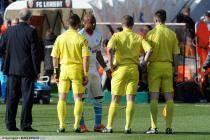 Carton Rouge Jordan AYEW / Benoit MILLOT - 27.04.2013 - Lorient / Marseille - 34 eme journee de Ligue 1