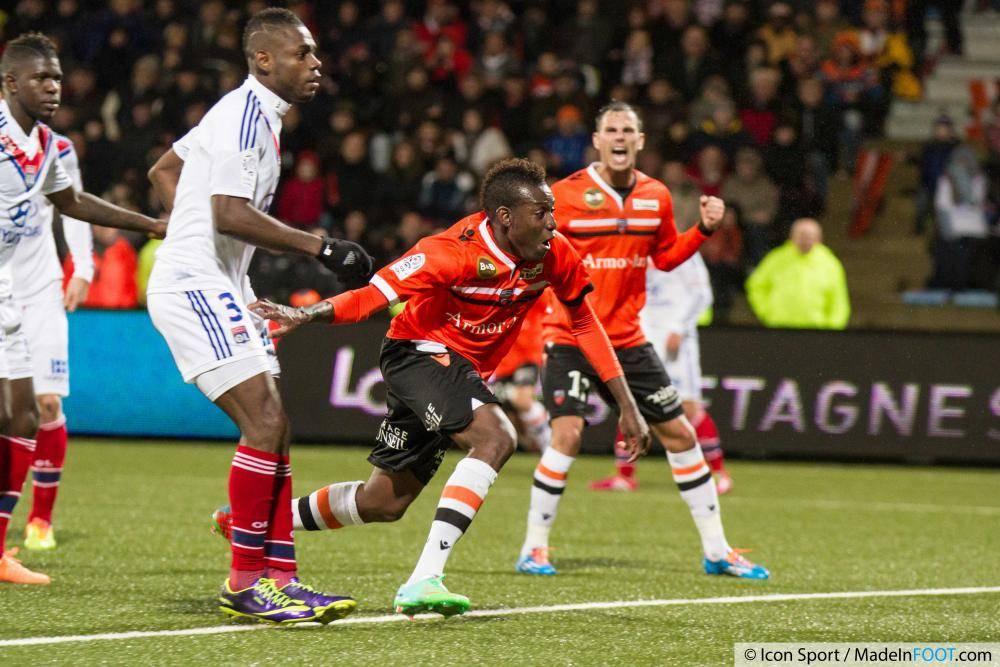 Alain Traoré a inscrit deux buts lors de l'exercice 2013-2014