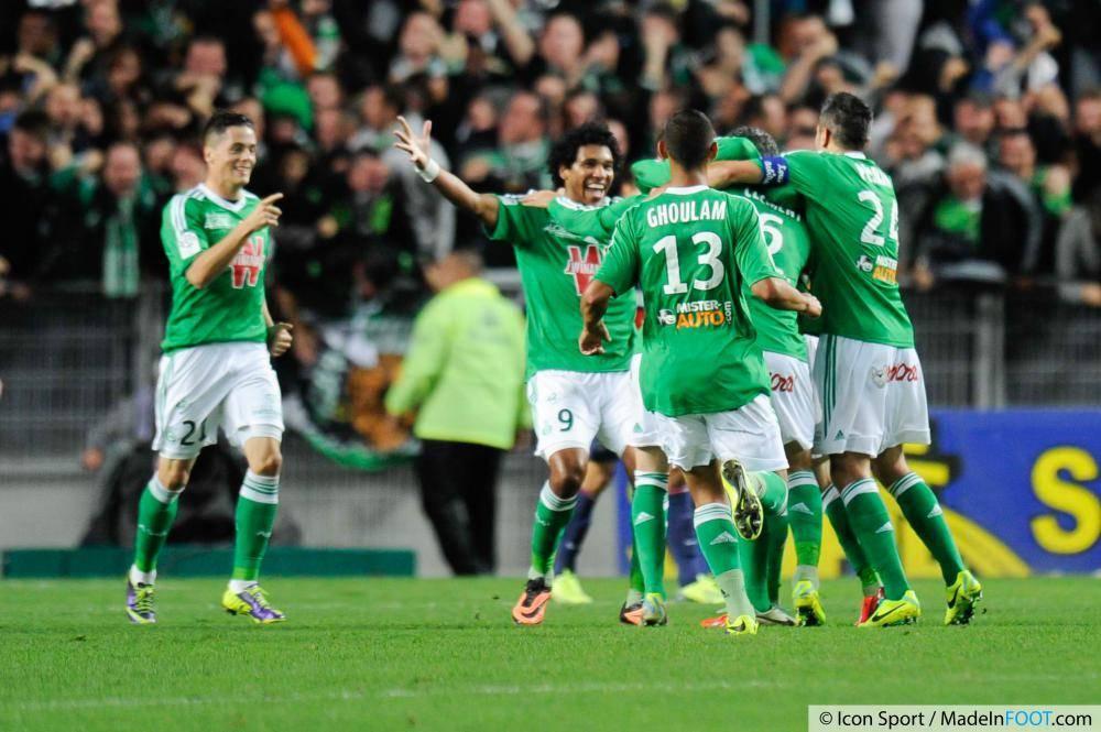 Les Verts de l'AS Saint-Etienne n'ont pas tremblé pour dominer l'AS Monaco