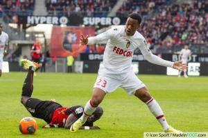 Cheik MBENGUE / Anthony MARTIAL  - 12.04.2014 - Rennes / Monaco - 33eme journee de Ligue 1