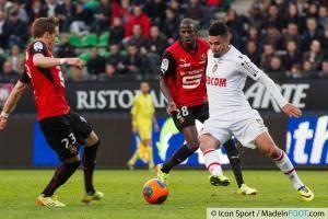 Emmanuel RIVIERE   - 12.04.2014 - Rennes / Monaco - 33eme journee de Ligue 1