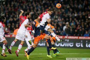 Goal Layvin KURZAWA - 10.01.2014 - Montpellier / Monaco - 20eme journee de Ligue 1 -