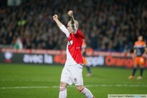 joie Andrea RAGGI - 10.01.2014 - Montpellier / Monaco - 20eme journee de Ligue 1 -