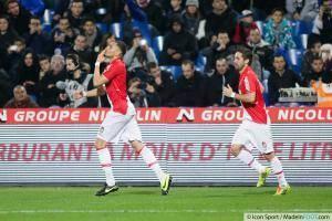 Joie Layvin KURZAWA - 10.01.2014 - Montpellier / Monaco - 20eme journee de Ligue 1 -