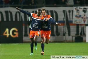 joie M Baye NIANG  - 10.01.2014 - Montpellier / Monaco - 20eme journee de Ligue 1