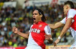 Radamel Falcao (AS Monaco) sera de retour face au LOSC, samedi soir.