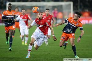 Layvin KURZAWA / Remy CABELLA - 10.01.2014 - Montpellier / Monaco - 20eme journee de Ligue 1