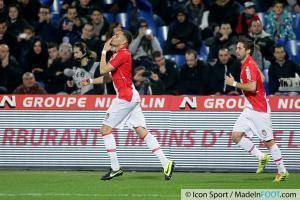 Layvin KURZAWA  - 10.01.2014 - Montpellier / Monaco - 20eme journee de Ligue 1