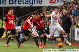 Lucas OCAMPOS   - 12.04.2014 - Rennes / Monaco - 33eme journee de Ligue 1