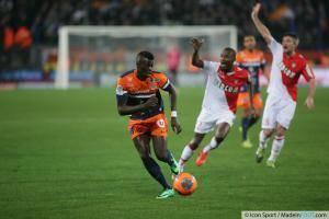 M Baye NIANG - 10.01.2014 - Montpellier / Monaco - 20eme journee de Ligue 1 -