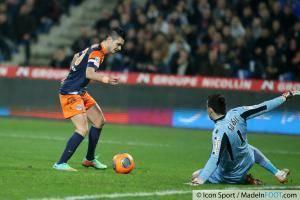 Remy CABELLA / SUBOSIC - 10.01.2014 - Montpellier / Monaco - 20eme journee de Ligue 1
