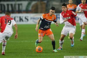 Remy CABELLA - 10.01.2014 - Montpellier / Monaco - 20eme journee de Ligue 1 -