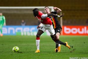 Tiemoué Bakayoko sous les couleurs de l'AS Monaco