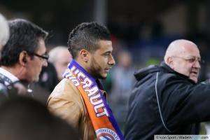 Younes BELHANDA - 10.01.2014 - Montpellier / Monaco - 20eme journee de Ligue 1 -