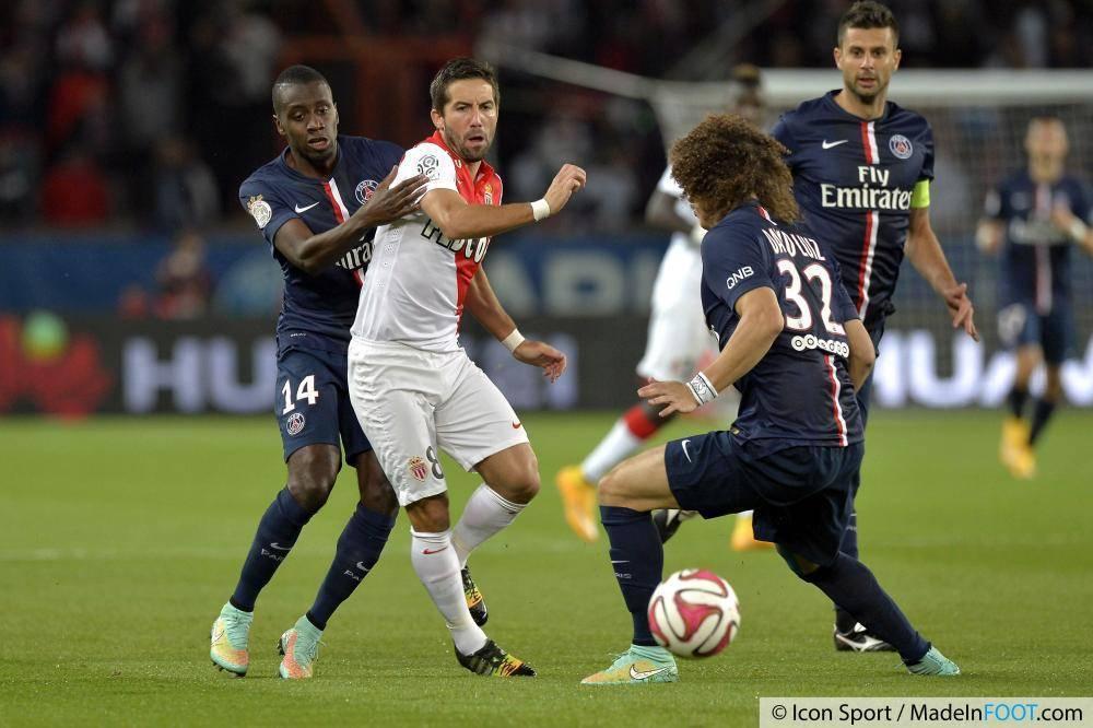 Les compos officielles de la rencontre entre l'AS Monaco et le PSG.