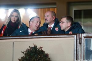 Dmitry Rybolovlev, le président de l'AS Monaco, ici à droite.