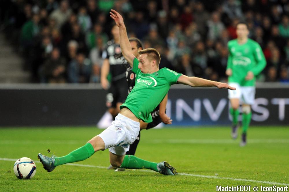 Robert Béric a inscrit, samedi, face à Reims son troisième but en Ligue 1 cette saison